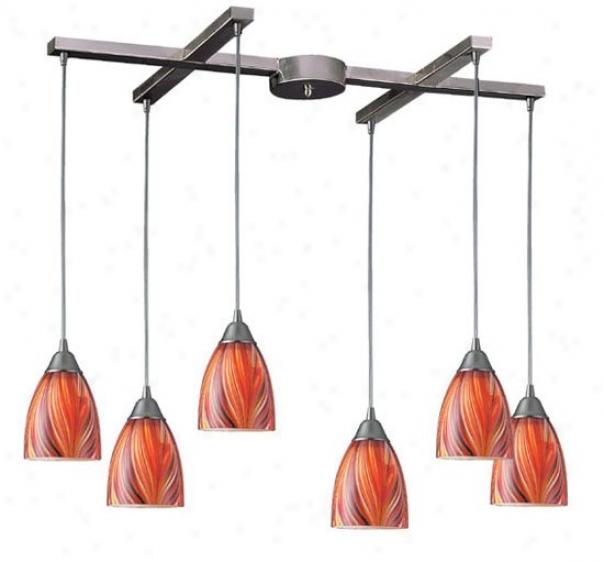 416-6cn - Elk Lighting - 416-6cn > Pendants