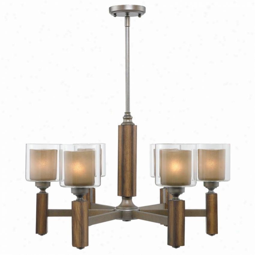 5010-6-mw - Golden Lighting - 5010-6-mw > Chandeliers