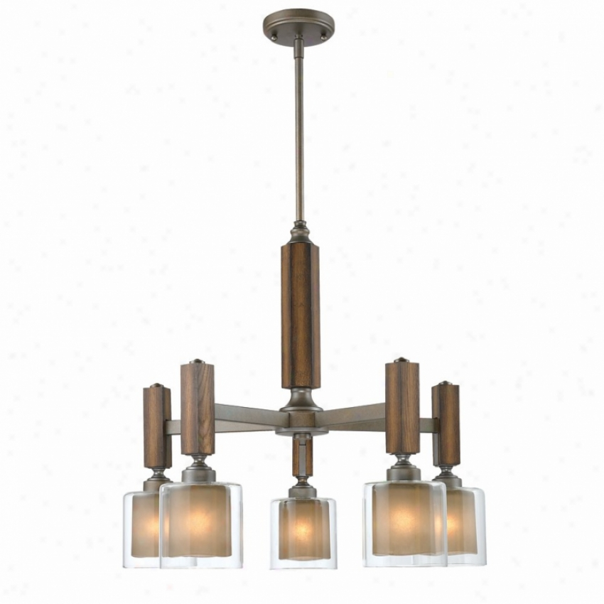 5010-d5--mw - Golden Lighting - 5010-d5-mw > Chandeliers