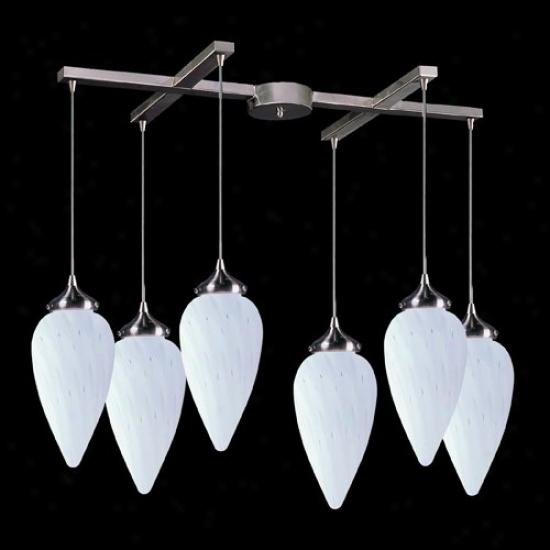 503-6wh - Elk Lighting - 503-6wh > Channdeliers