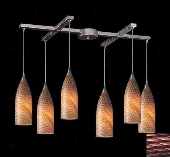 522-6pv - Elk Lighting - 522-6pv > Pendants