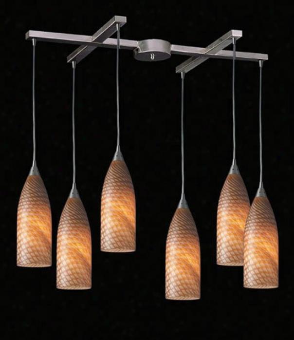 522-6sc - Elk Lighting - 522-6sc > Pendants