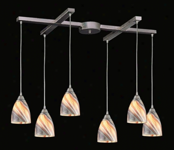 527-6cr - Elk Lighting - 527-6cr > Pendants