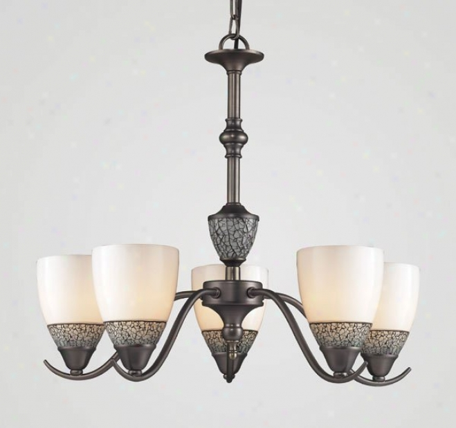 537-5ap - Elk Lighting - 537-5ap-whc > Chandeliers