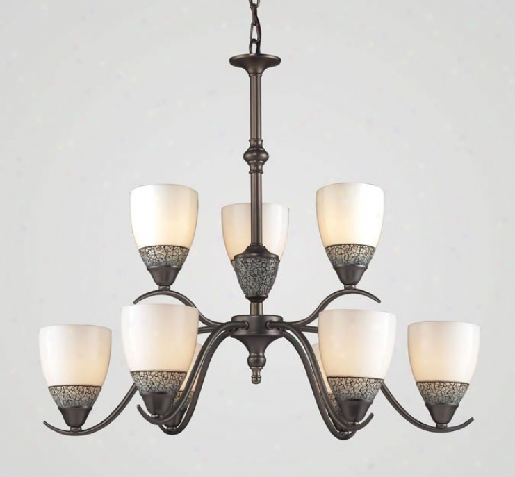 538-6+3ap - Elk Lighting - 538-6+3ap-whc > Chandeliers