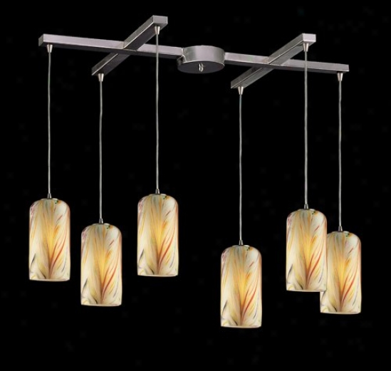 544-6mh - Elk Lighting - 544-6mh > Pendants