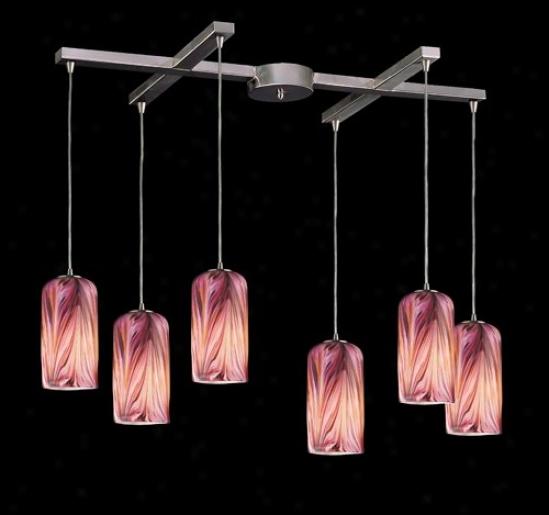 544-6mr - Elk Lighting - 544-6mr > Pendants