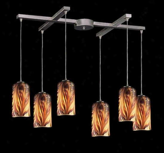 5446ms - Elk Lighting - 544-6ms > Pendants