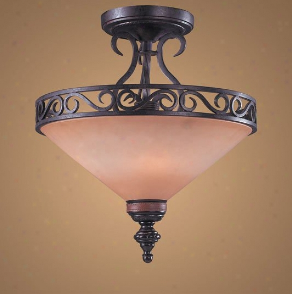 6075_3 - Elk Lighting - 6075_3 > Semi Flush Mount