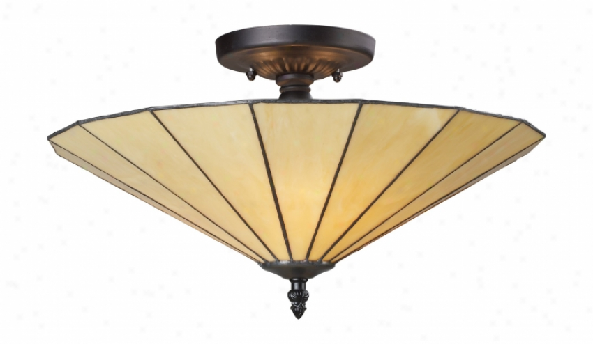 70001-3b - Landmark Lighting - 70001-3hb > Semi Flush Mount