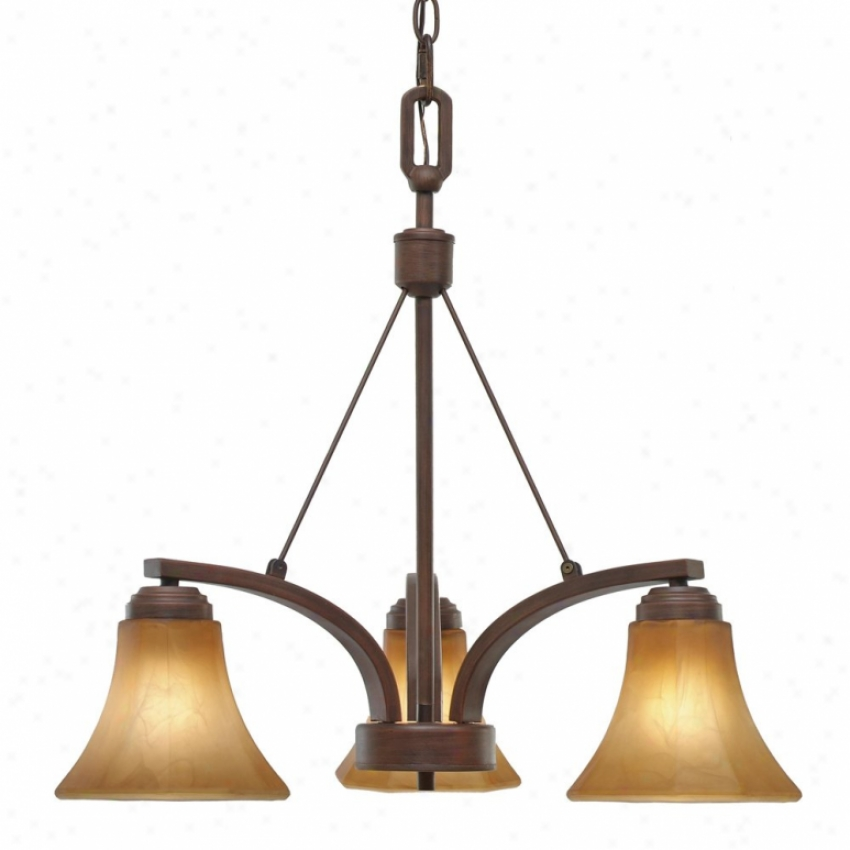 7158-nd3rbz - Golden Lighting - 7158-nd3rbz > Chandeliers