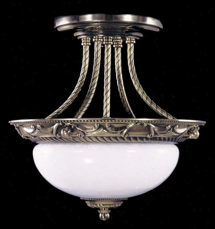 8398 - Framburg - 8397 > Semi Flush Mount