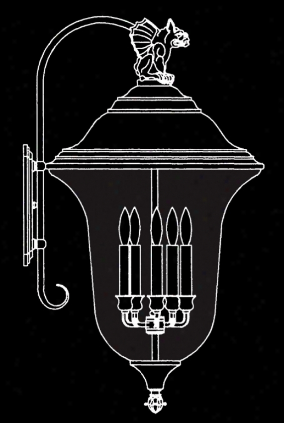 8507 - Framburg - 8507 > Outdoor Wall Sconce