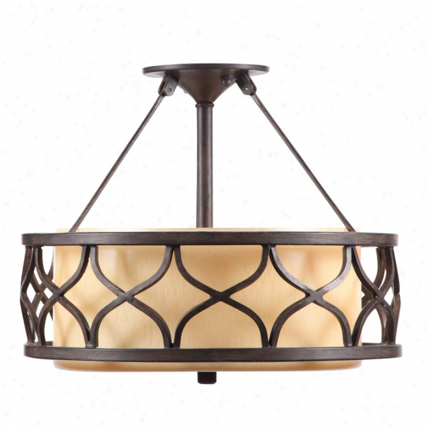 9018-sfm-cob - Golden Lighting - 9018-sfm-cob > Semi Flush Mount
