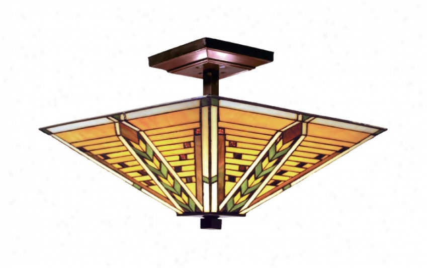 935-tb - Landmark Lighting - 935-tb > Semi Flush Mount