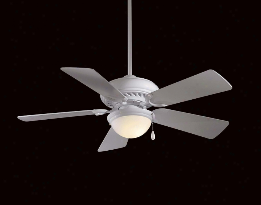 F563-s;-wh - Minka Aire - F563-sp-wh > Ceiling Fans