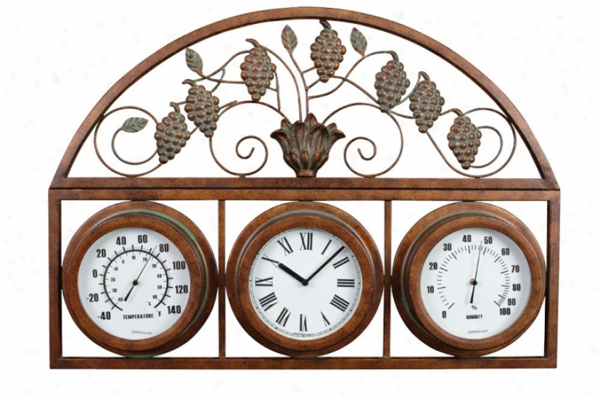 Ga138-101 - Craftmade - Ga318-101 > Clocks