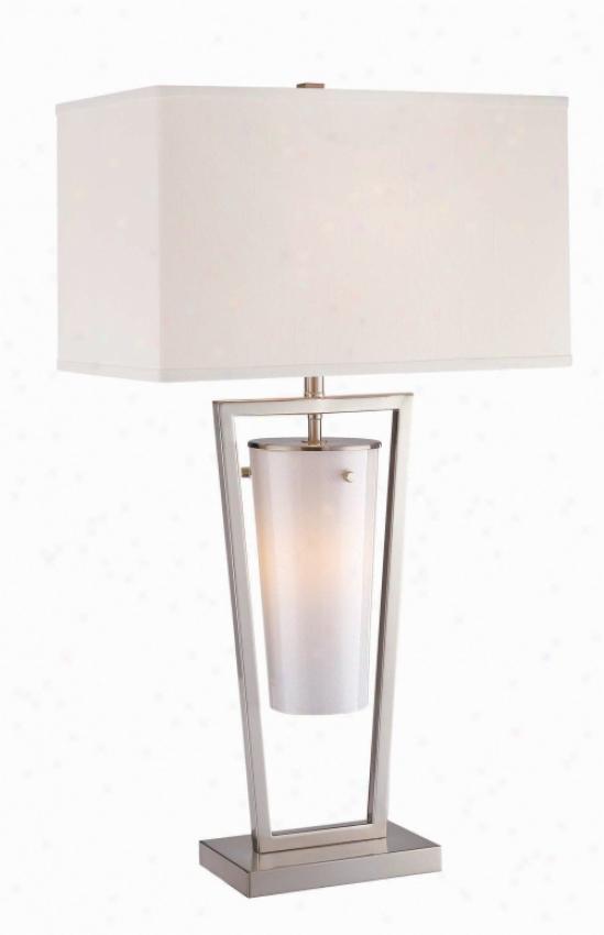 Ls-20760ps/wht - Lite Sourve - Ls-2O760ps/wht>  Table Lamps