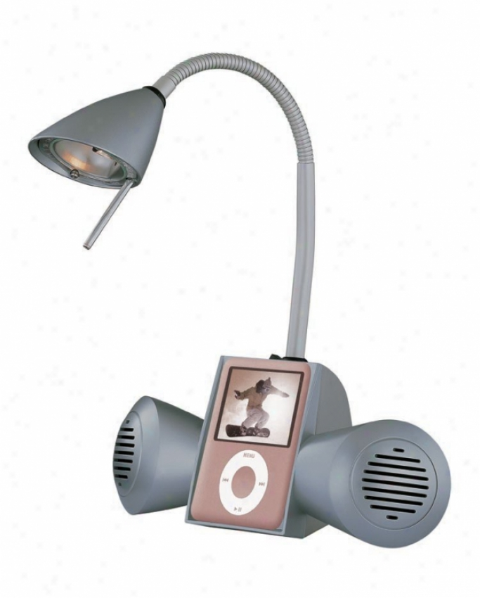 Ls-20995silv - Lite Source - Ls-20995silv > Desk And Piano Lamps