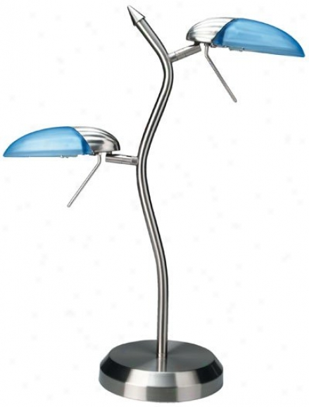 Ls-309ps/l/blu - Lite Source - Ls-309ps/l/blu > Table Lamps
