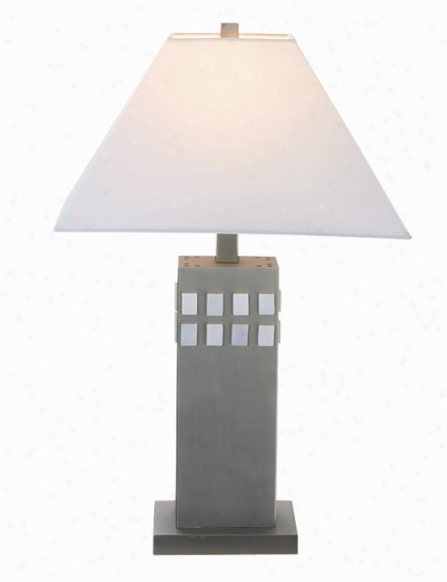 Ls-3236ss/wht - Flower Source - Ls-3236ss/wht > Table Lamps