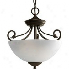 P3738-20 - Progress Lighting - P3738-20 > Semi Flush Mount