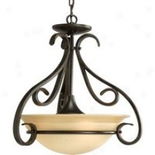 P3843-77 - Progress Lighting - P3843-77 > Semi Flush Mount