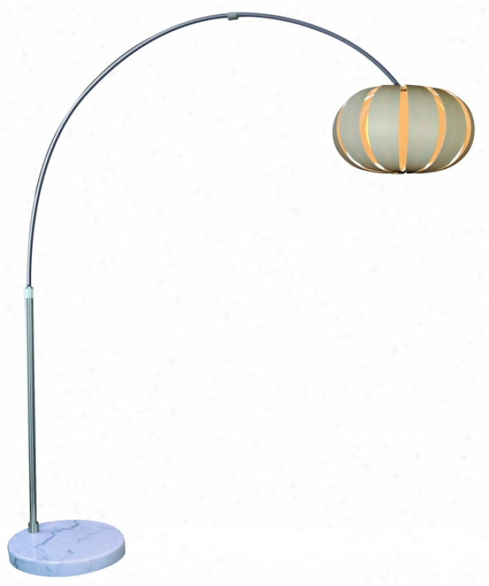 "Tfa3976-w - Trend Lighting - Tfa3976-w > ""pique"" Arc Floor Lamp"