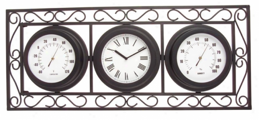 Th073-05 - Craftmade - Th073-05 > Clocks