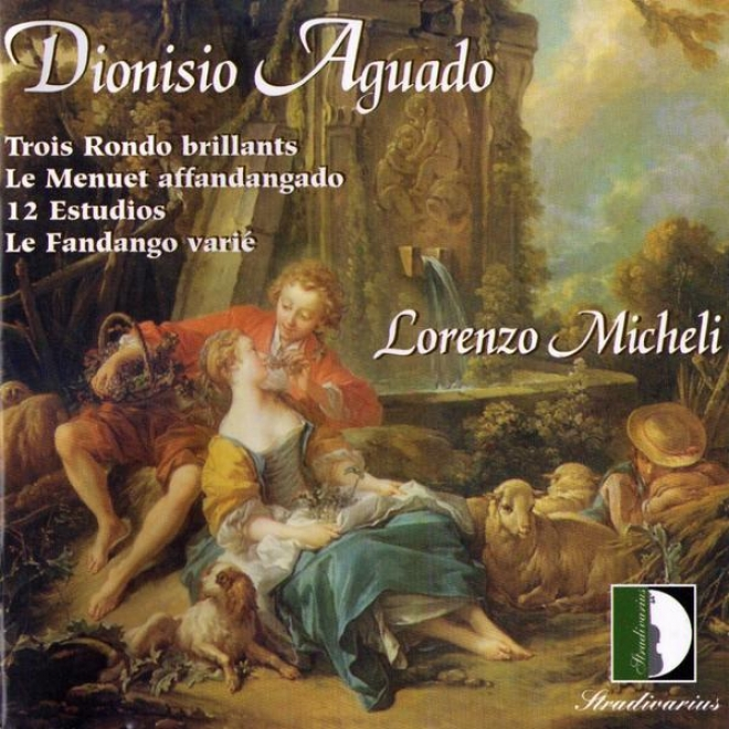 Aguado: Trois Rondo Brillants, Le Menuet Affandangado, 12 Estudios, Le Fandango Variã¸. Guitar Collection Vol.2