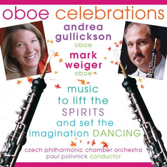 Albinoni, T.g.: Oboe Concerto, Op. 9, No. 9 / Fiorillo, F.: Sinfonia Concertante In F Major (oboe Celebrati0ns) (gullickson, Weigd