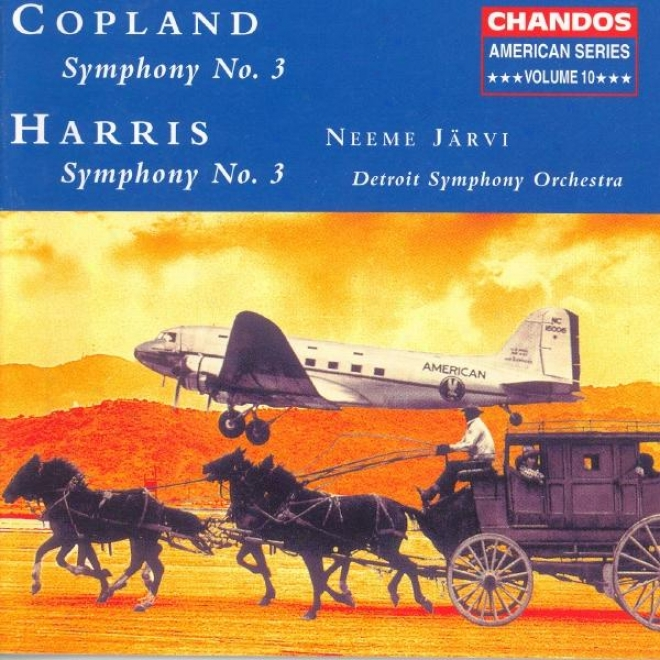 American Series, Vol. 10 - Harris: Symphony No. 3 / Copland: Symphony No. 3