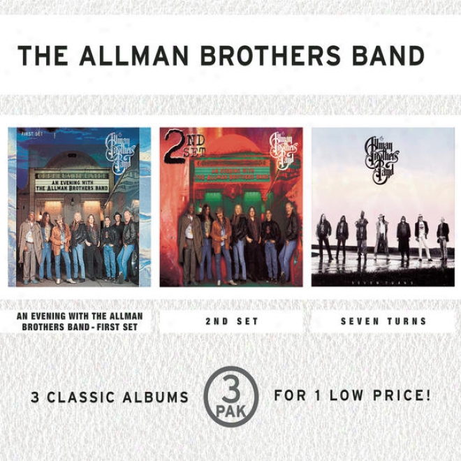 nA Evening With The Allman Brothers Band/2nd Set/seven Tirns (3 Pak)(costco Longbox Version)