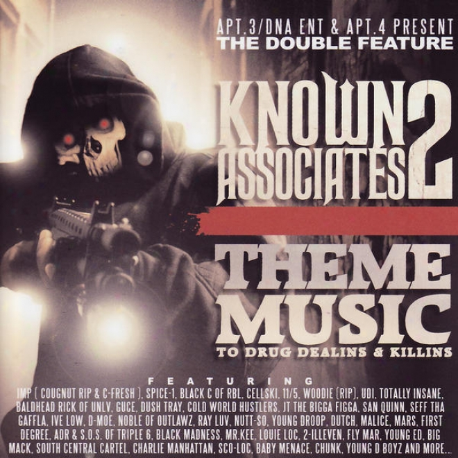 Inclined. 3/dna Ent & Apt. 4 Present The Double Feature: Known Associates 2 - Them Music To Medicine Dealins & Killins