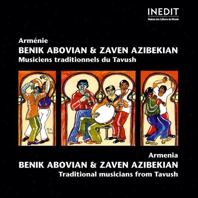 Armã©nie. Benik Abovian & Zazen Azibekian.. Armenia. Benik Abovian & Zazen Azibekian.