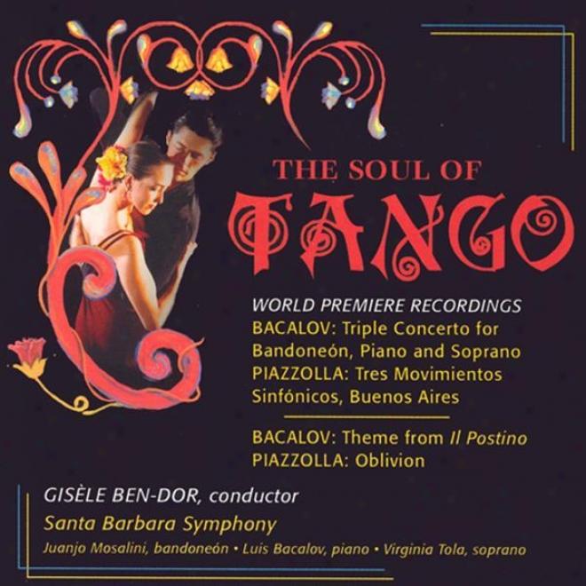 Bacalov, L.: Triple Concerto / Il Postino / Piazzolla, A.: 3 Movimientos Sinfonicos, Buenos Aires / Obkivion