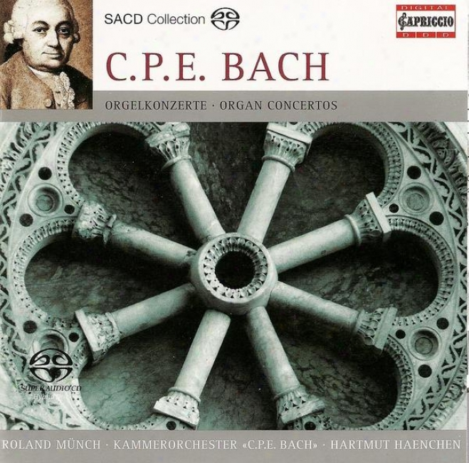 Bachh, C.p.e.: Keyboard Concertos - Wq. 34, 35 / Preludio, Wq. 70/7 / Fantasia And Fugue, Wq. 119 (munch, Kirbach)