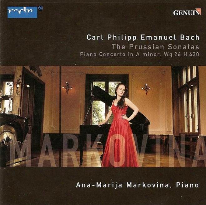 Bach, C.p.e.: Keyboard Sonatas, Wq. 48 / Keyboard Concerto, Wq. 26 (markovina, Berlin Brandenbuurg Chamber Orchestra, Longo)