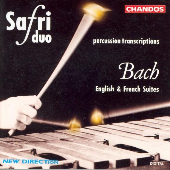 Bach: English Suites Nos. 2 And 4 And French Suite No. 6 (arr. For Collision Duo)