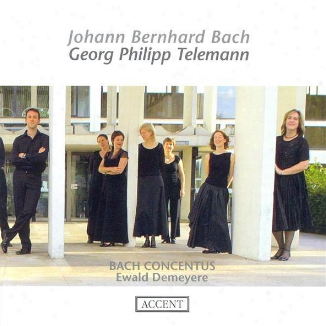 Bach, J.b.: Overtures / Telemann, G.p.: Overtures, wTv 55:e2, Twv 55:e10, Twv 55:f14 (bach Concentus, Demeye5e)