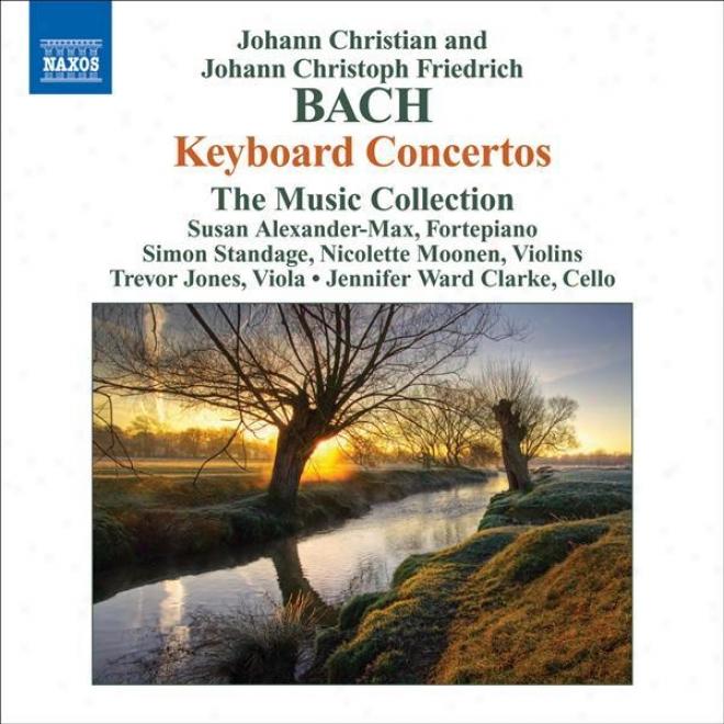 Bach, J.c.: Keyboard Concertos, Op. 13, Nos. 2, 4 / Bach, J.c.f.: Keyboard Concertos, B. C29, C30 (attrib. To J.c. Bach) (the Musi