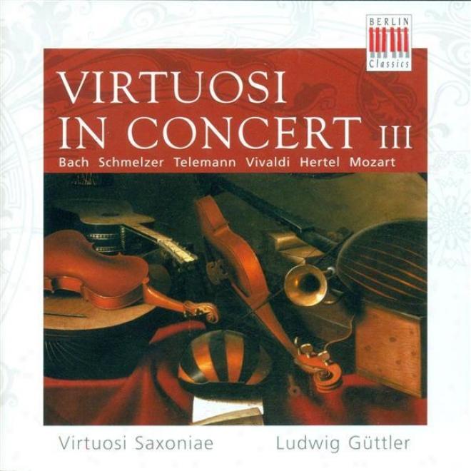 Bach, J.s.: Brandenburg Concerto No. 4 / Telemann, G.p.: Concerto For 3 Violins In F Major / Hertel, J.w.: Trumpet Concerto In D M