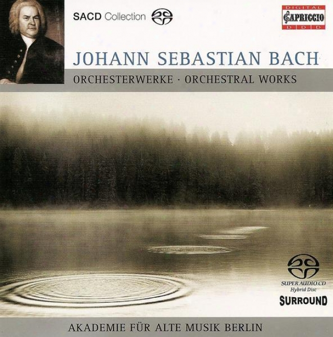 Bach, J.s.: Brandenburg Concerto No. 5 / Concerto For 2 Keyboards, Bwv 1061 / Overture (suite) No. 2 (academy For Ancient Music Be