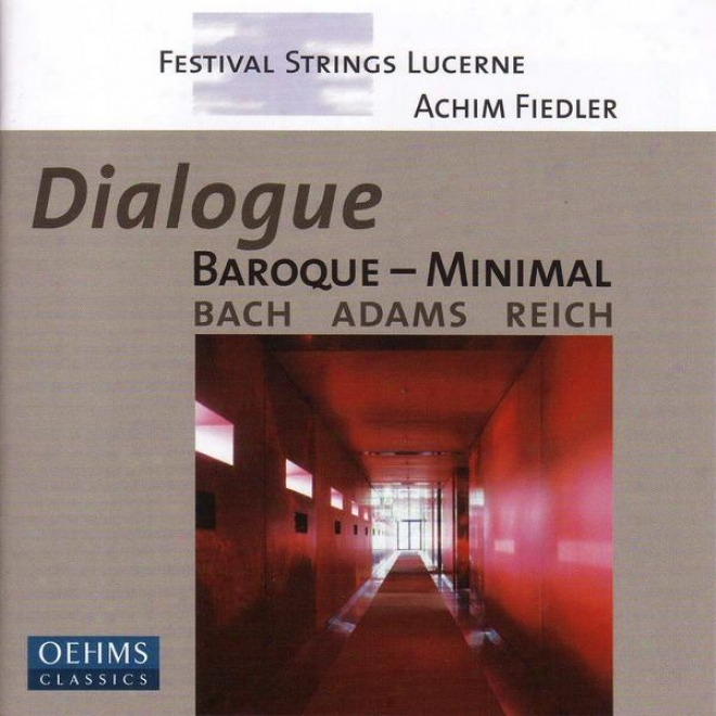 Bach, J.s.: Brandenburg Concertos Nos. 3 And 6  / Adams: Shaker Loops / Reich: Triple Quartet