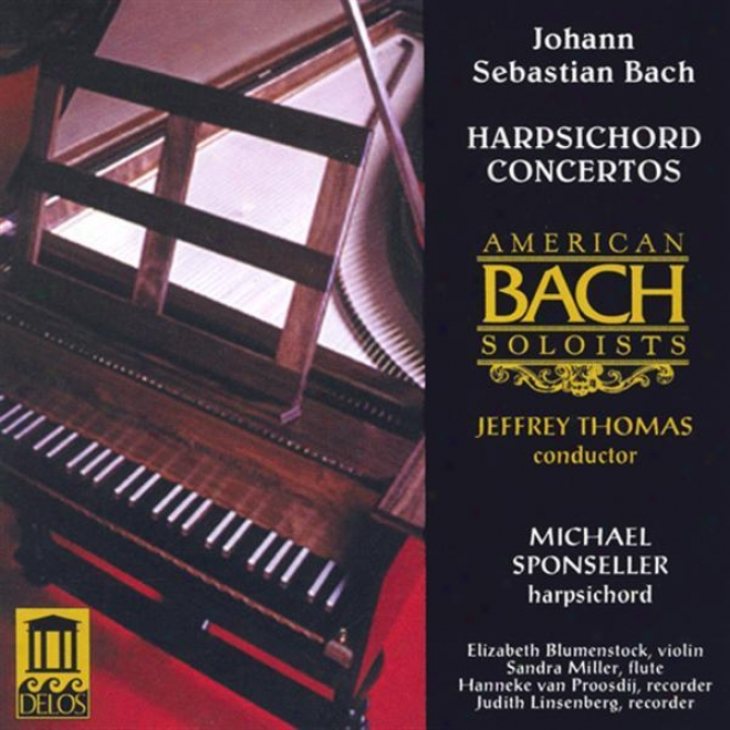Bach, J.s.: Concertos - Bwv 972, 1044, 1052, 1057 (american Bach Soloists Orchestra, Thomas)