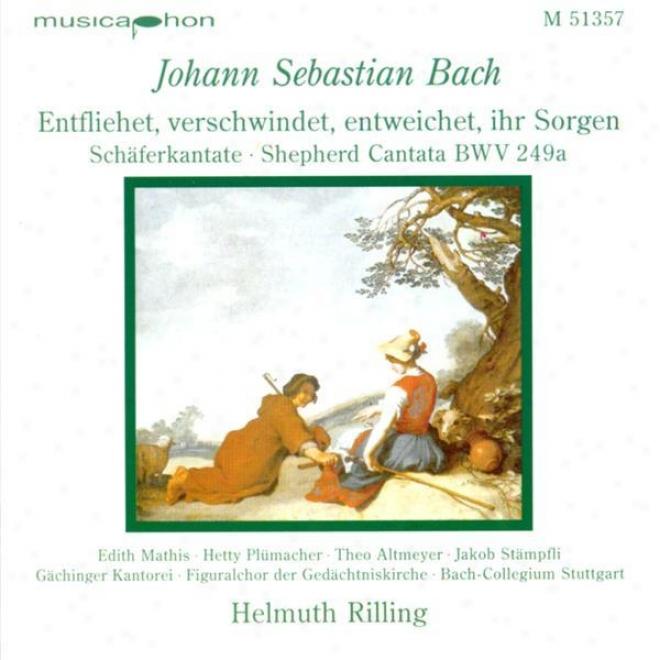 Bach, J.s.: Entfliehet, Verschwindet, Entweichet, Ihr Sorgen / Concerto Conducive to Oboe And Violin In D Minor