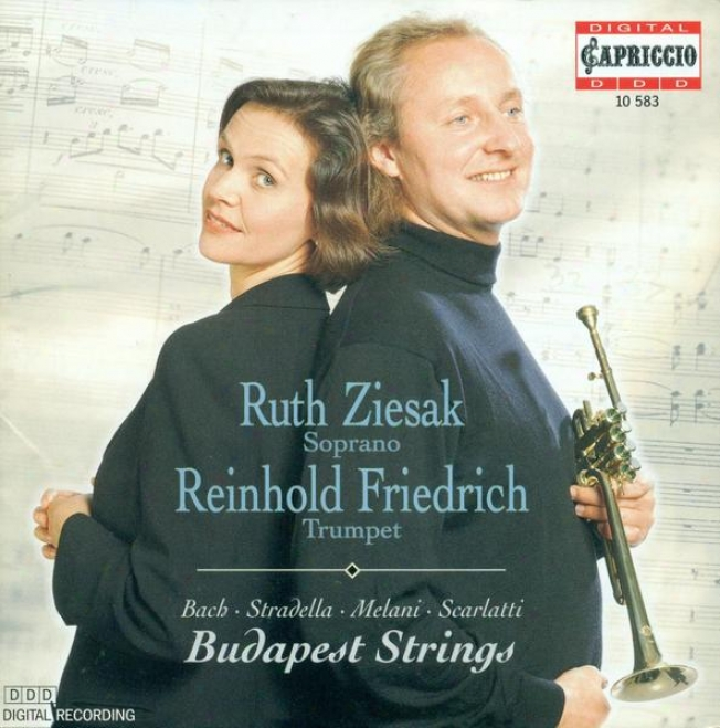 Bach, J.s.: Jauchzet Gott In Allen Landen / Melani, A.: Qual Mormorio Giocondo / Scarlatti, A.: Su Le Sponde Del Tebro (ziesak)