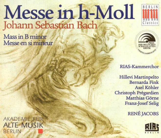 Bach, J.s.: Mass In B Minor, Bwv 232 (academy For Ancient Music Berlin, Jacpbs)