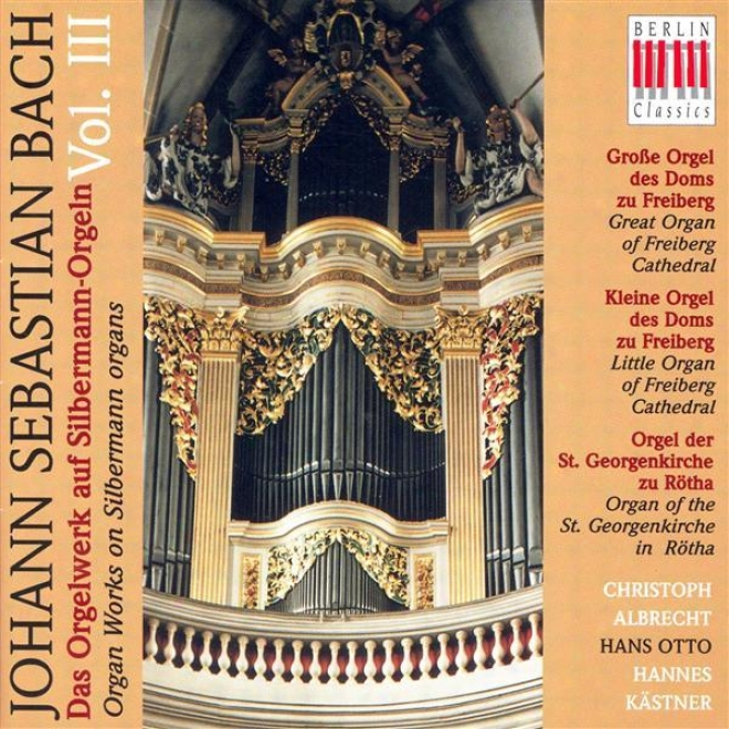 Bach, J.s.: Organ Musoc On Silbermann Organs, Vol. 3 - Bwv Bwv 582, 651-668, 727, 730, 733, 734, 735, 736, 737, 768, 769 (otto, Al