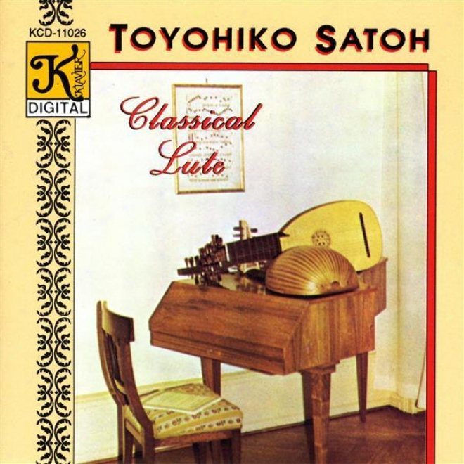 Bach: Lute Partita In E Major / Visee: Gigue And Double De La Gigue / Weiss: Lute Snoata In D Minor